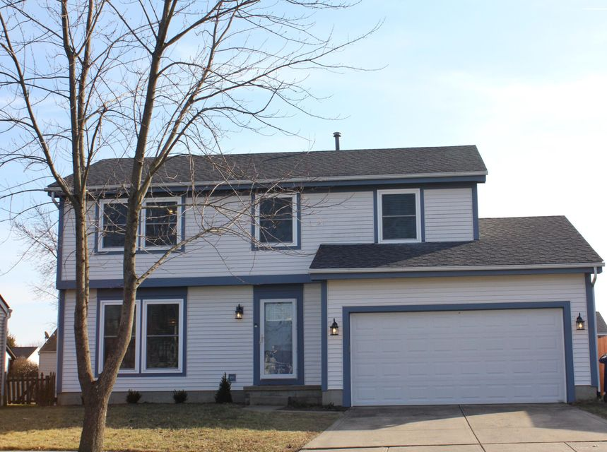 Photo of home for sale at 5075 CALHOON Drive, Hilliard OH