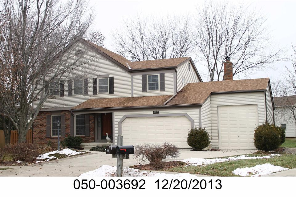 Photo of home for sale at 2585 Pennbrook Ct, Hilliard OH