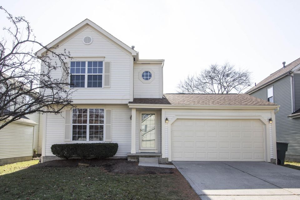 Photo of home for sale at 5359 WHIRLWIND COVE Drive, Hilliard OH