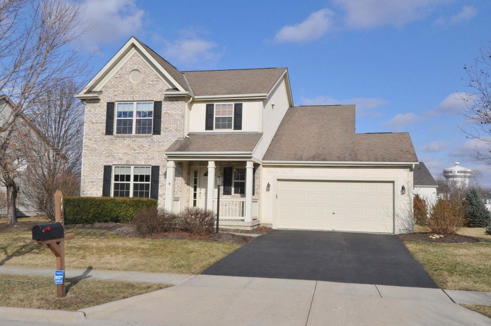 Photo of home for sale at 7756 WINDSOR Drive, Dublin OH