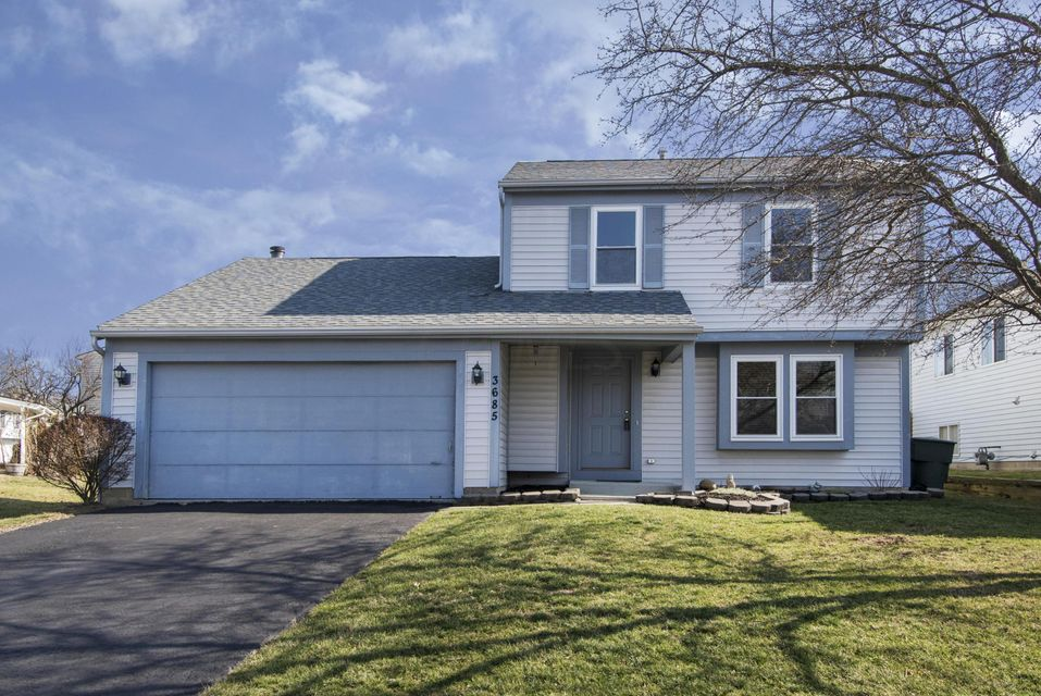 Photo of home for sale at 3685 Hunting Lane, Gahanna OH