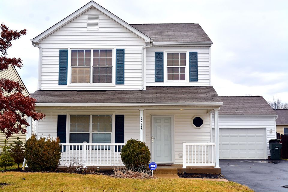 Photo of home for sale at 3678 Halloran Court, Columbus OH