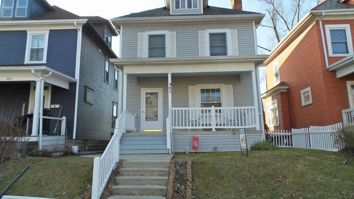 Photo of home for sale at 485 Maynard Avenue E, Columbus OH