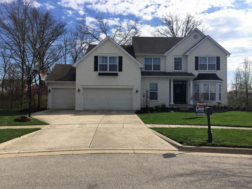 Photo of home for sale at 7153 CLEAR WATER Court, Powell OH
