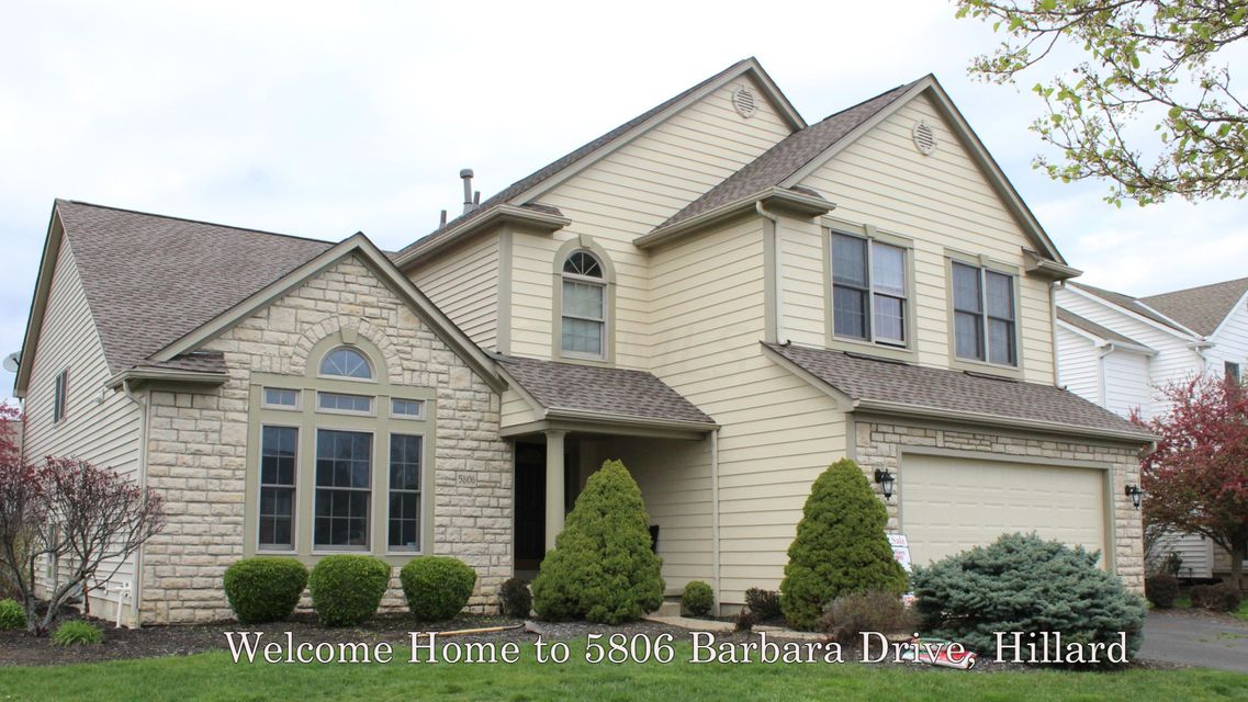 5806 Barbara Drive, Hilliard, OH 43026