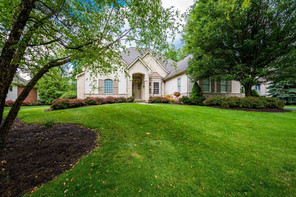 Photo of home for sale at 8015 Tartan Fields Drive, Dublin OH