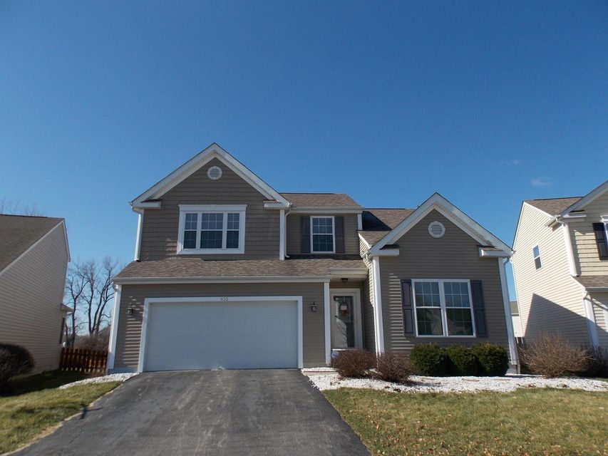 Photo of home for sale at 633 Redwood Valley Drive, Blacklick OH