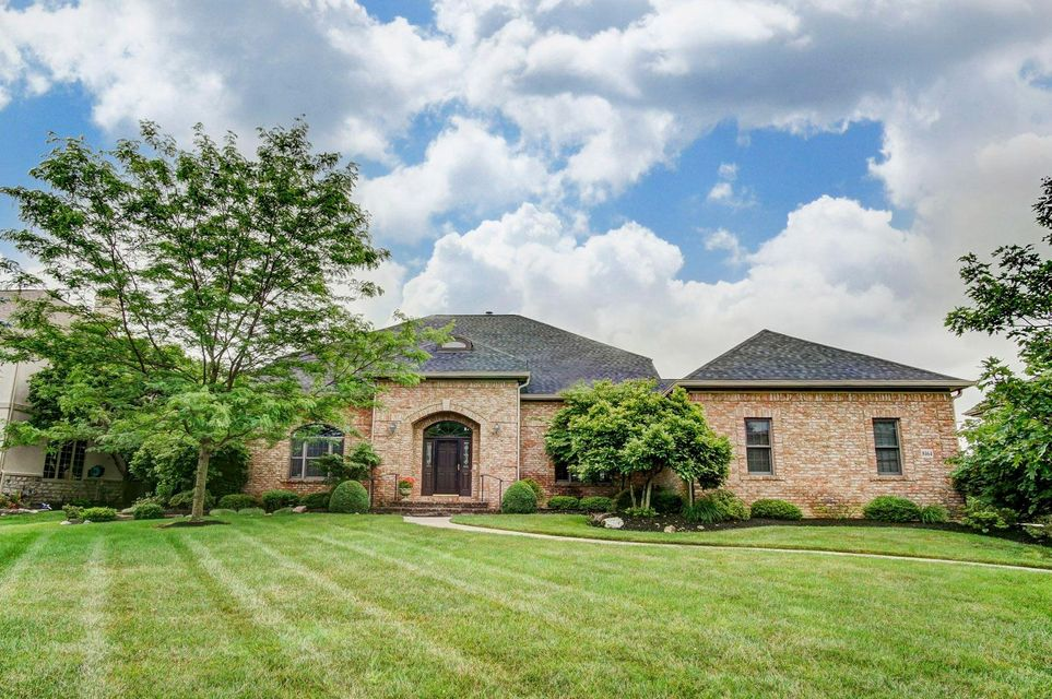 Photo of home for sale at 8164 Winchcombe Drive, Dublin OH