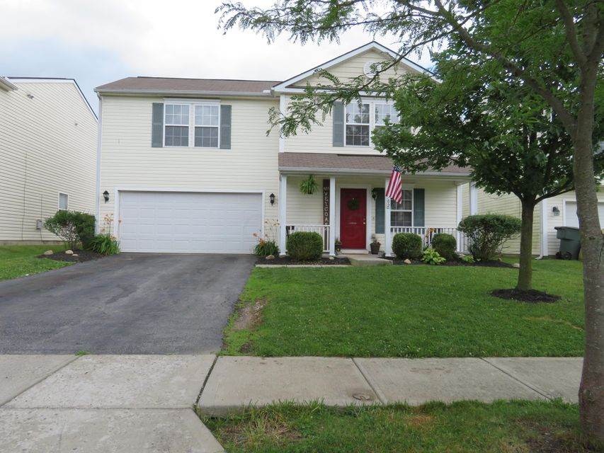 Photo of home for sale at 4702 Galecrest Drive, Columbus OH