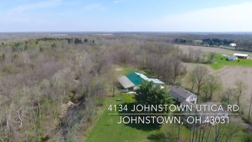 Photo of home for sale at 4134 Johnstown Utica Road, Johnstown OH