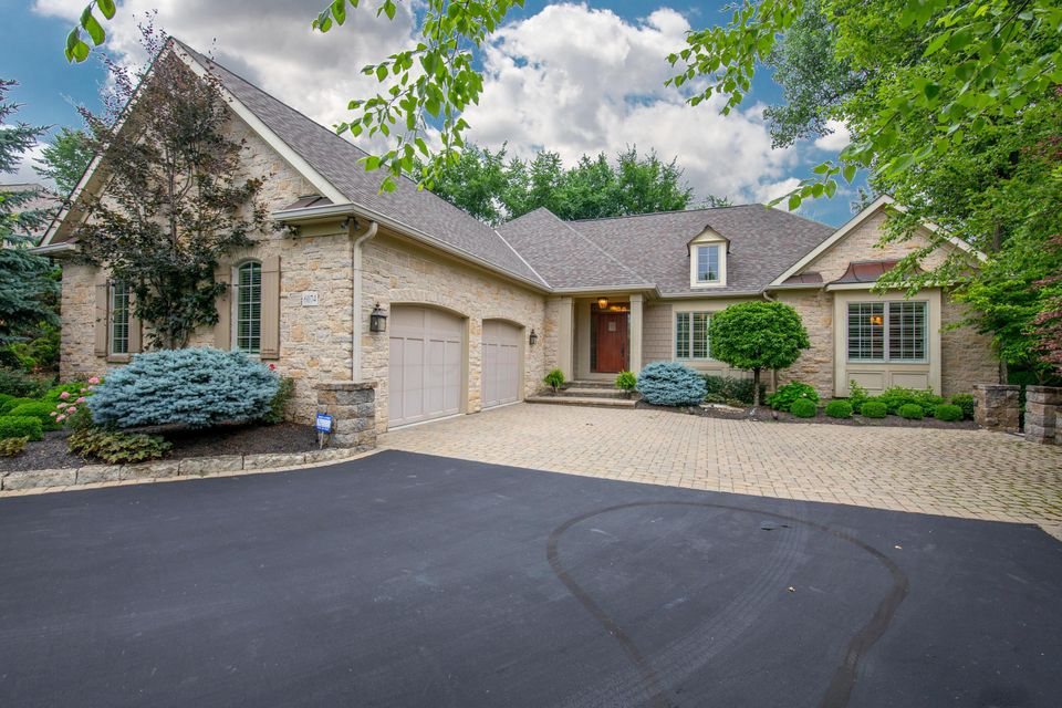 Photo of home for sale at 6074 Whitney Woods Court, Columbus OH