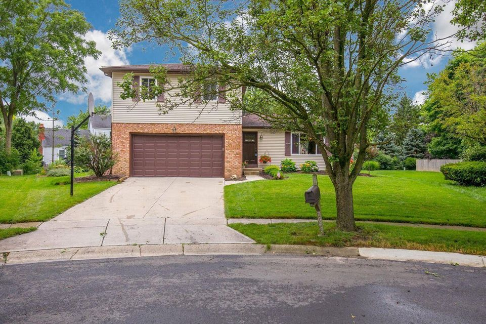 Photo of home for sale at 7645 Foxboro Court, Columbus OH