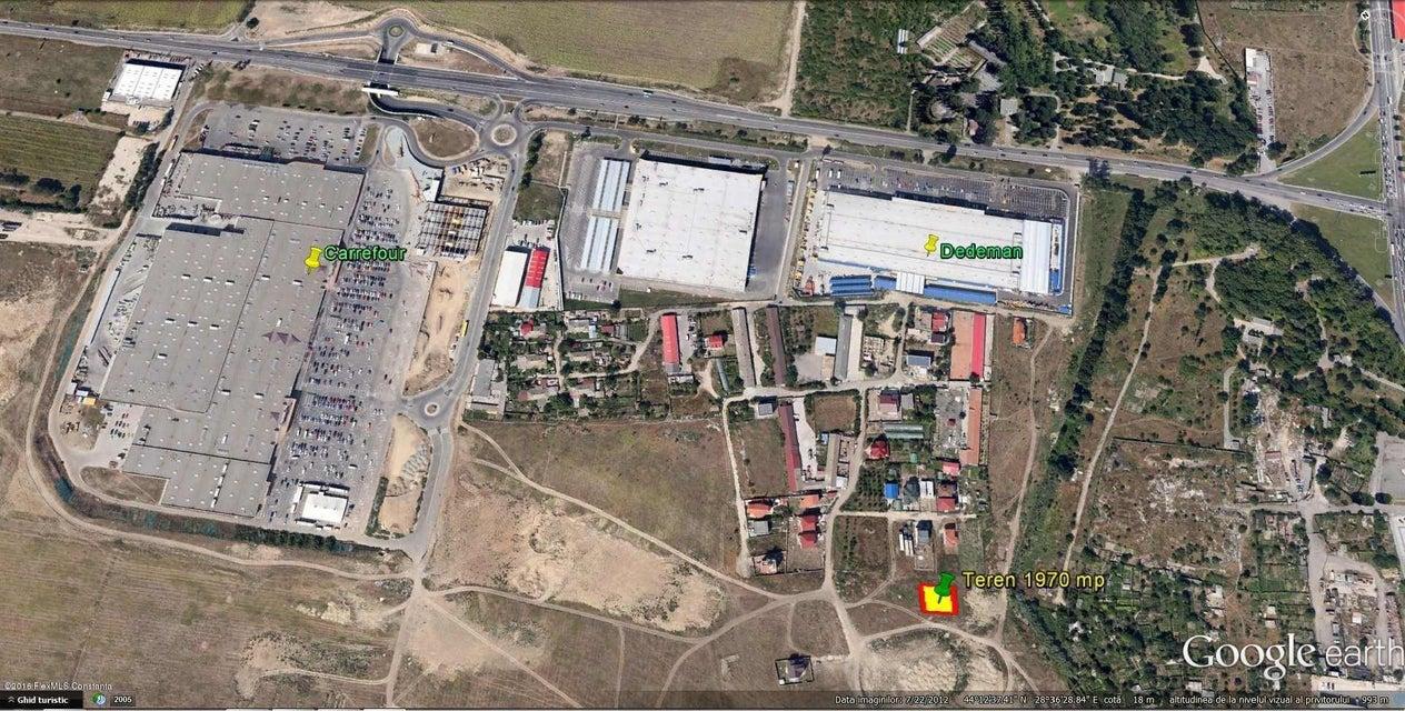 Vanzare Teren Intravilan 1970 m² - Careffour, Constanta