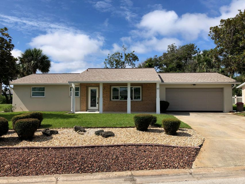 40  Longfellow Circle, Ormond Beach in Volusia County, FL 32176 Home for Sale