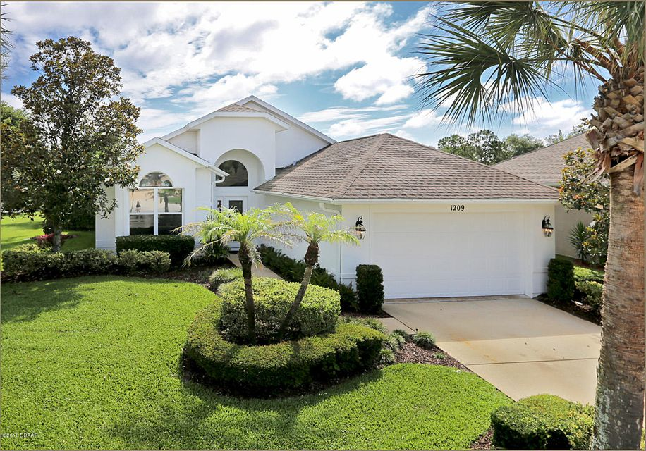 1209  Sunningdale Lane, Ormond Beach in Volusia County, FL 32174 Home for Sale