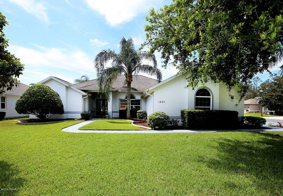 1251  Hampstead Lane, Ormond Beach in Volusia County, FL 32174 Home for Sale