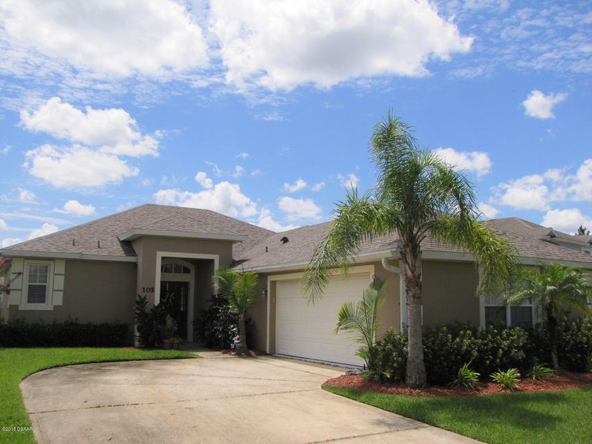105  Wedge Circle, Daytona Beach in Volusia County, FL 32124 Home for Sale