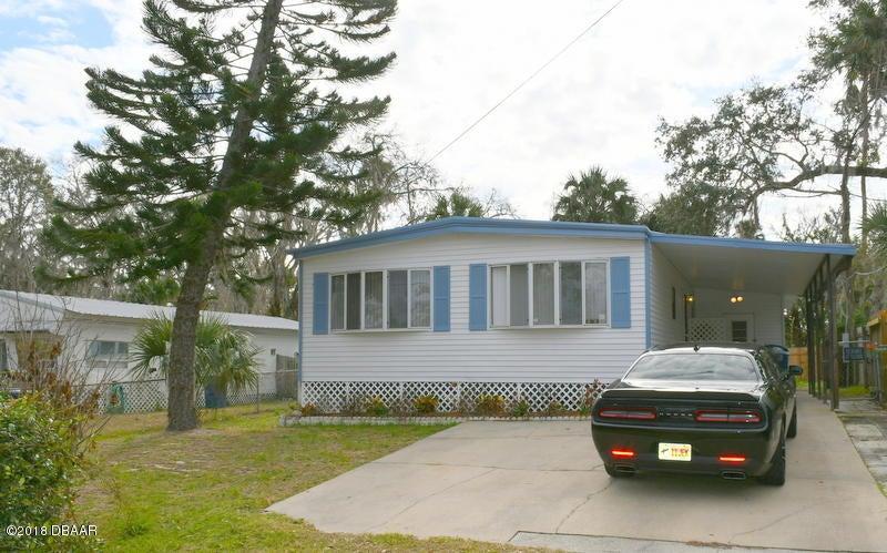 1036  June Terrace, Daytona Beach in Volusia County, FL 32119 Home for Sale