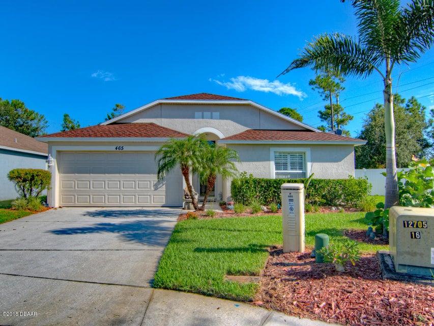 465  Dahoon Holly Drive, Daytona Beach in Volusia County, FL 32117 Home for Sale