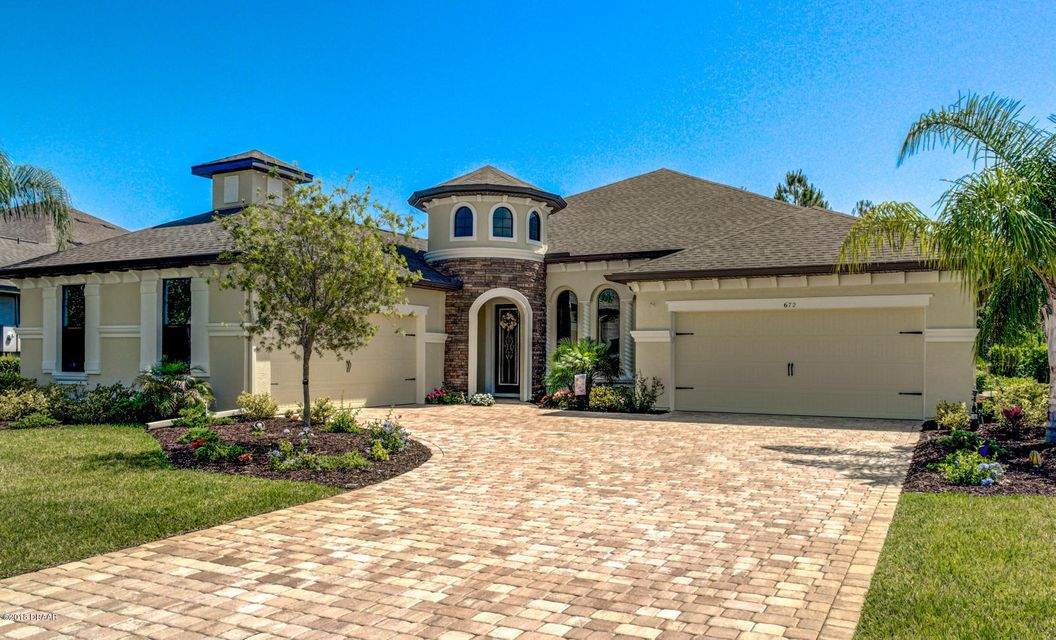672  Southlake Drive, Ormond Beach in Flagler County, FL 32174 Home for Sale