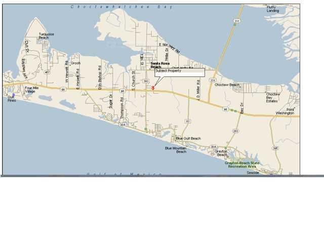 MLS Property 581403 for sale in Santa Rosa Beach