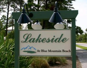A   Lakeside At Blue Mountain Beach Residential Land