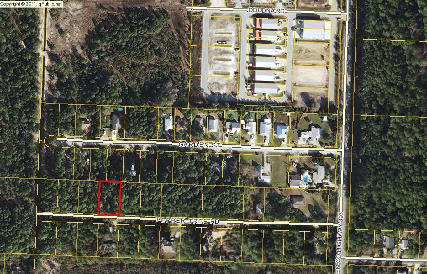 Lot 11 Pepper Tree Road, Santa Rosa Beach, FL 32459