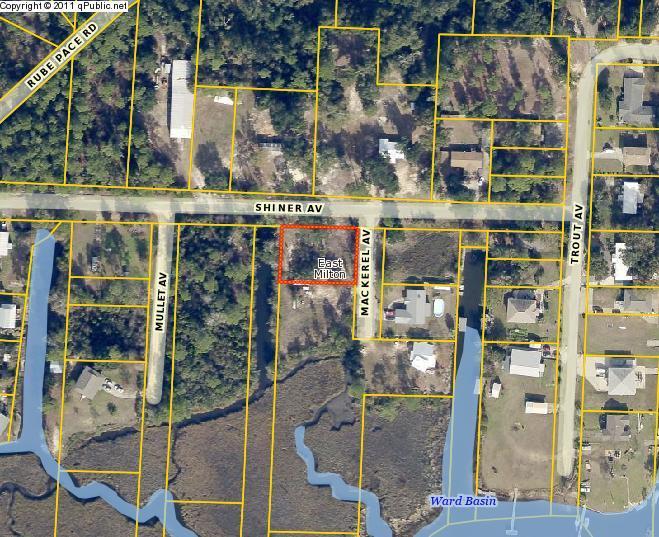 4181 MACKEREL Avenue lot #2, Milton, FL 32583