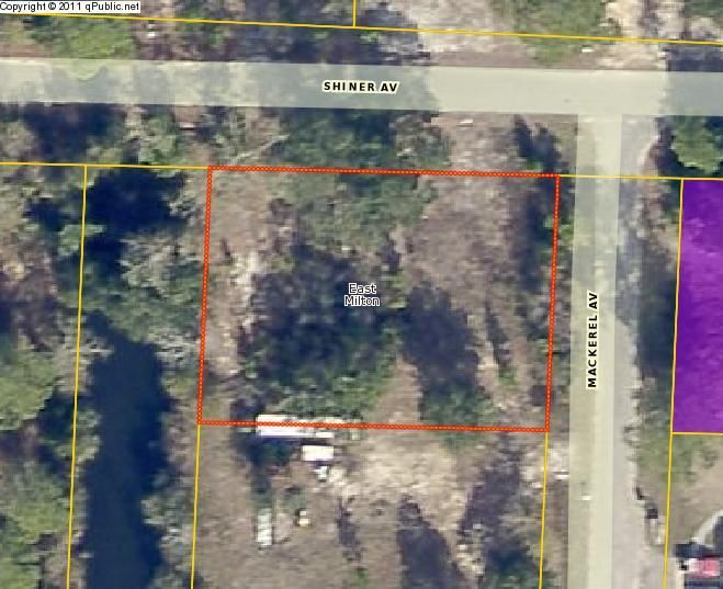 4181 MACKEREL Avenue lot #1, Milton, FL 32583