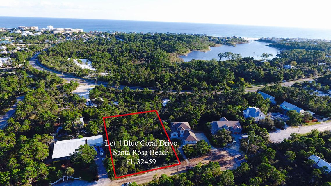 Lot 4 Blue Coral Drive, Santa Rosa Beach, FL 32459