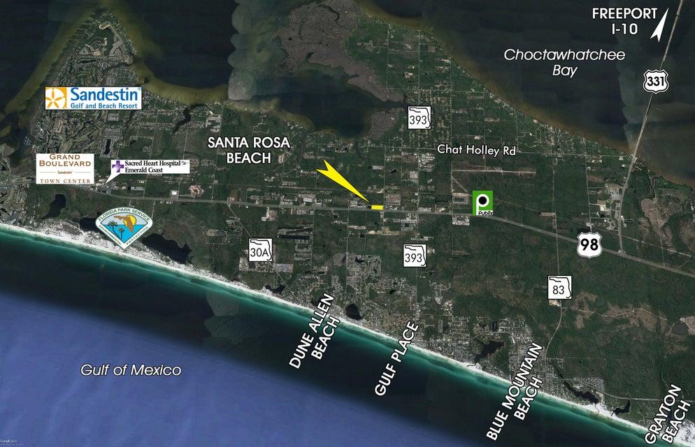 6.19 Acres Hwy 98, Santa Rosa Beach, FL 32459