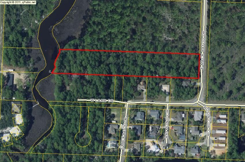 LOT 17 Mack Bayou Road, Santa Rosa Beach, FL 32550