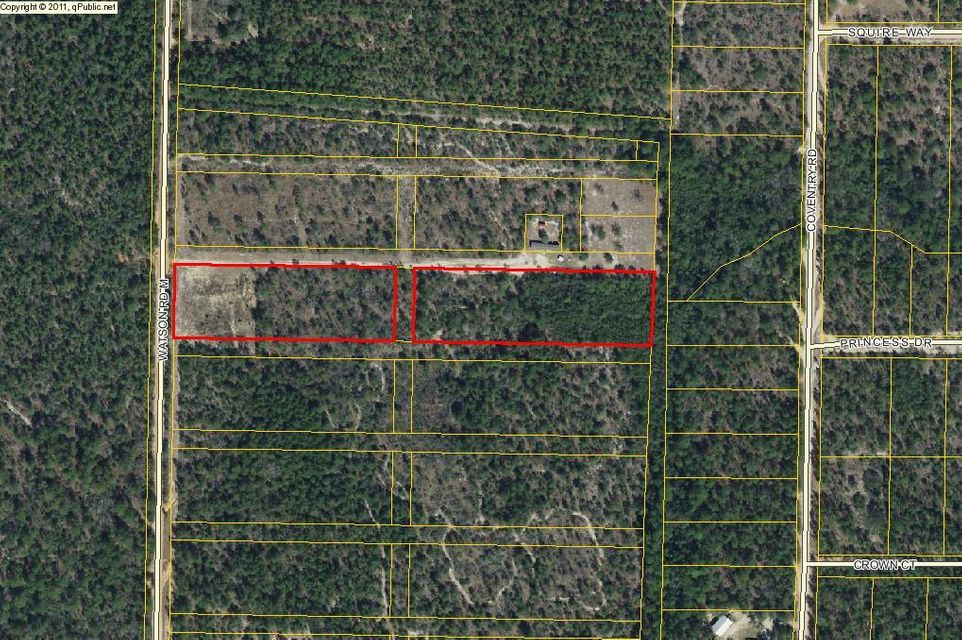 5.7 Acres Watson Road, Mossy Head, FL 32434