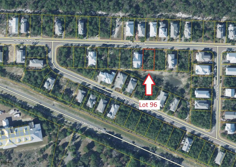 Lot 96 Morgans Trail, Santa Rosa Beach, FL 32459