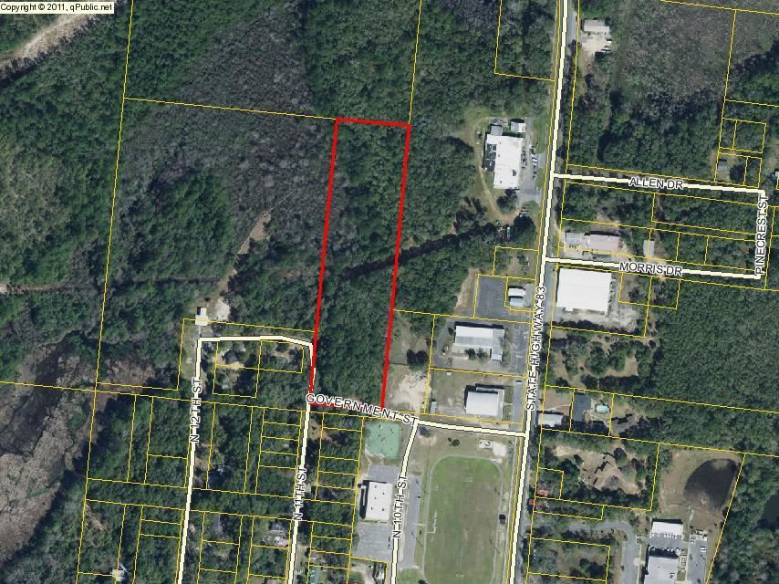 5.35 acres Government St. Street, Defuniak Springs, FL 32433