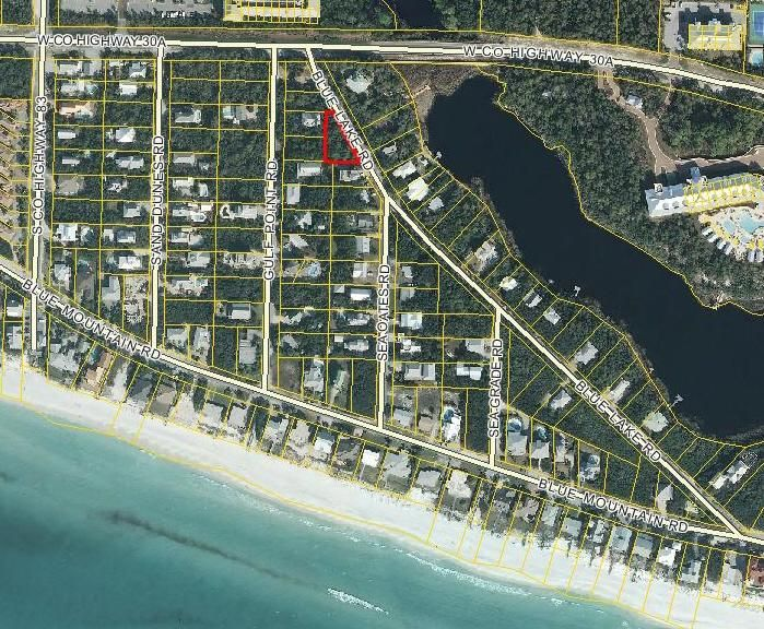 LOT 15 BLUE LAKE Road, Santa Rosa Beach, FL 32459
