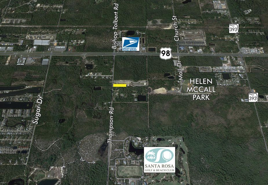 4 Acres THOMPSON Road, Santa Rosa Beach, FL 32459