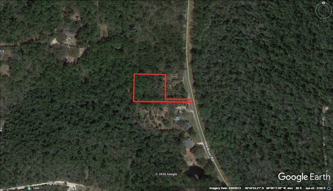 1.08 AC XXX Old River Road, Baker, FL 32531