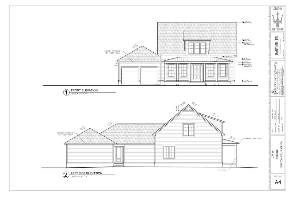 515 Medley Street (Lot 68), Inlet Beach, FL 32461