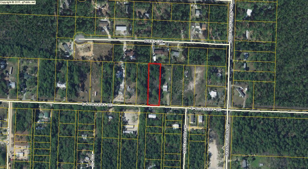Lot 9i E NURSERY Road, Santa Rosa Beach, FL 32459