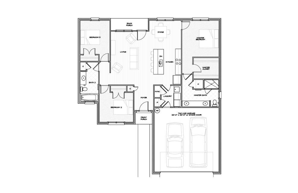 A 3 Bedroom 2 Bedroom Meigs S/d Home