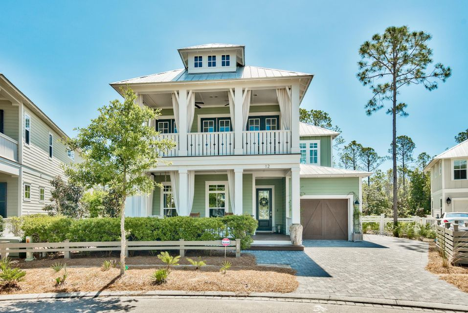 Photo of home for sale at 12 Pine Lily Circle, Santa Rosa Beach FL