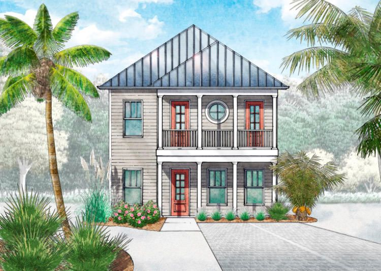 Photo of home for sale at LOT 13 Beach View Drive, Inlet Beach FL