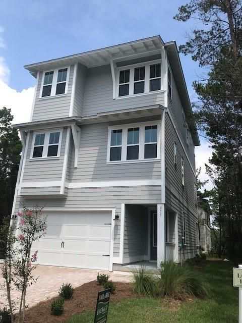 Photo of home for sale at 275 Grande Pointe Circle, Inlet Beach FL