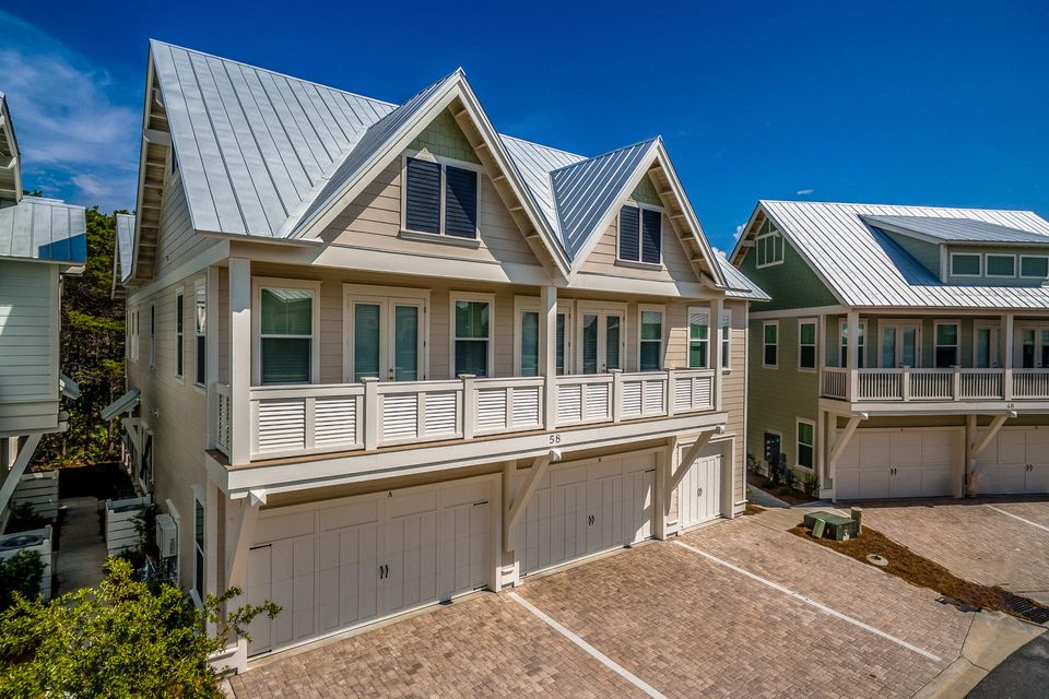 Photo of home for sale at 89 Pine Lands, Inlet Beach FL