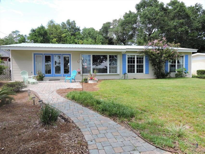 1111 N Bayshore Drive, Valparaiso in Okaloosa County, FL 32580 Home for Sale