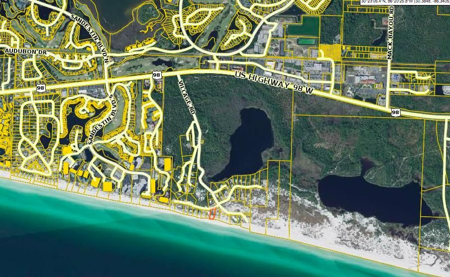 Village Beach Rd West,Miramar Beach,Florida 32550,Vacant land,Village Beach Rd West,20131126143817002353000000