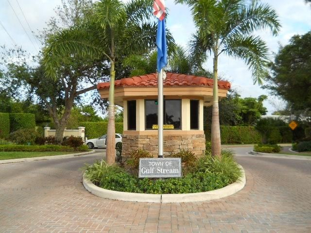 Town of Gulfstream Entrance