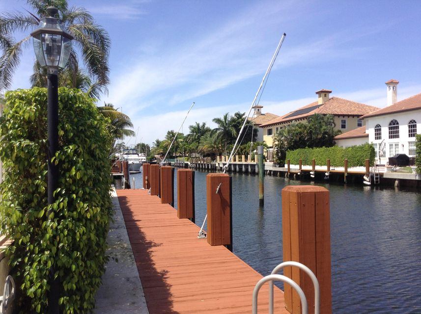 Dock with Dolphin Posts