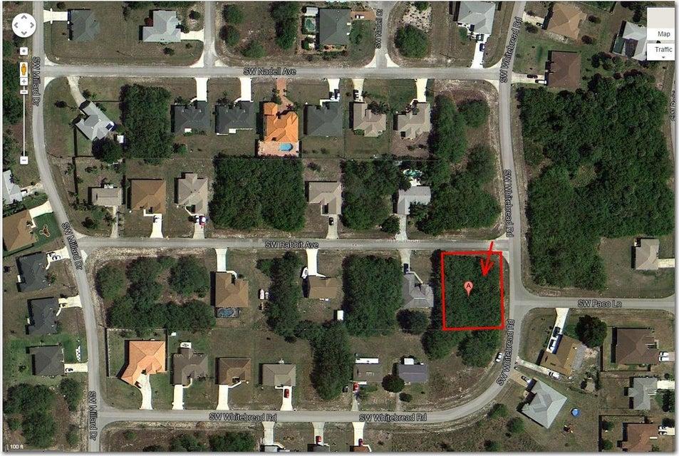 土地,用地 为 销售 在 520 SW Rabbit Av Avenue 520 SW Rabbit Av Avenue 圣露西港, 佛罗里达州 34953 美国